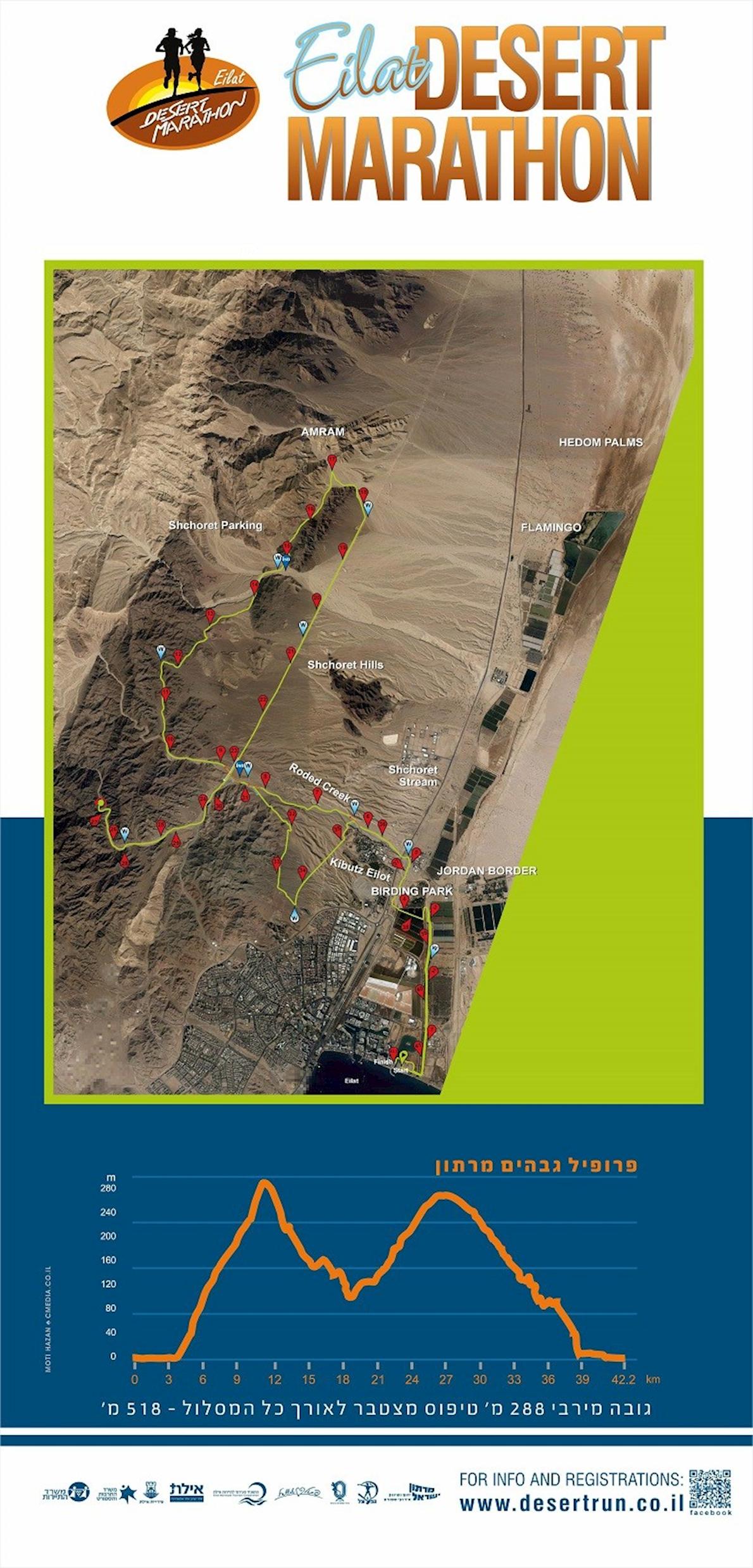Eilat Desert International Marathon Nov 30 2018 Worlds Marathons