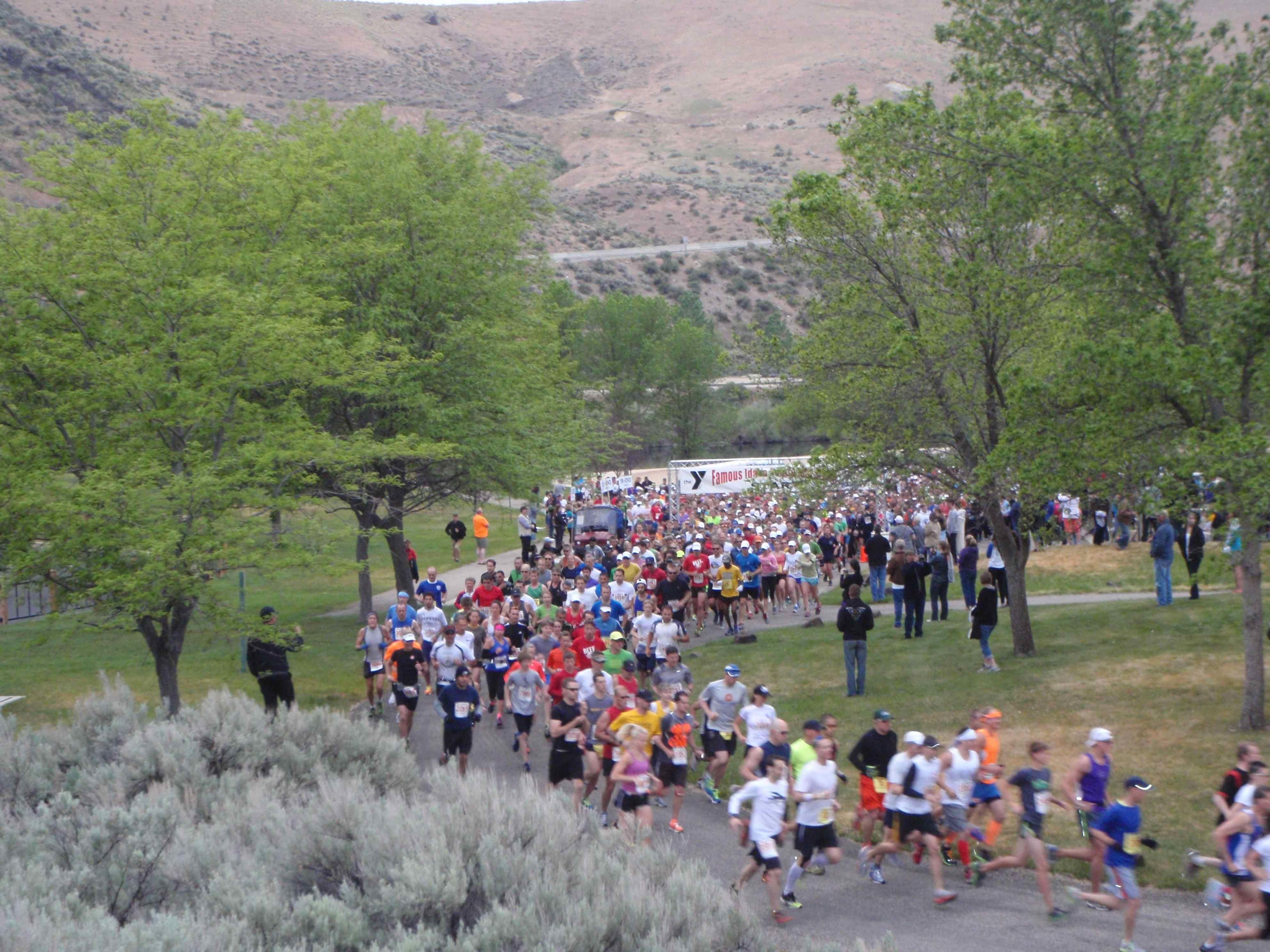 Alles over de Famous Idaho Potato Marathon en hoe jij er aan mee kunt doen
