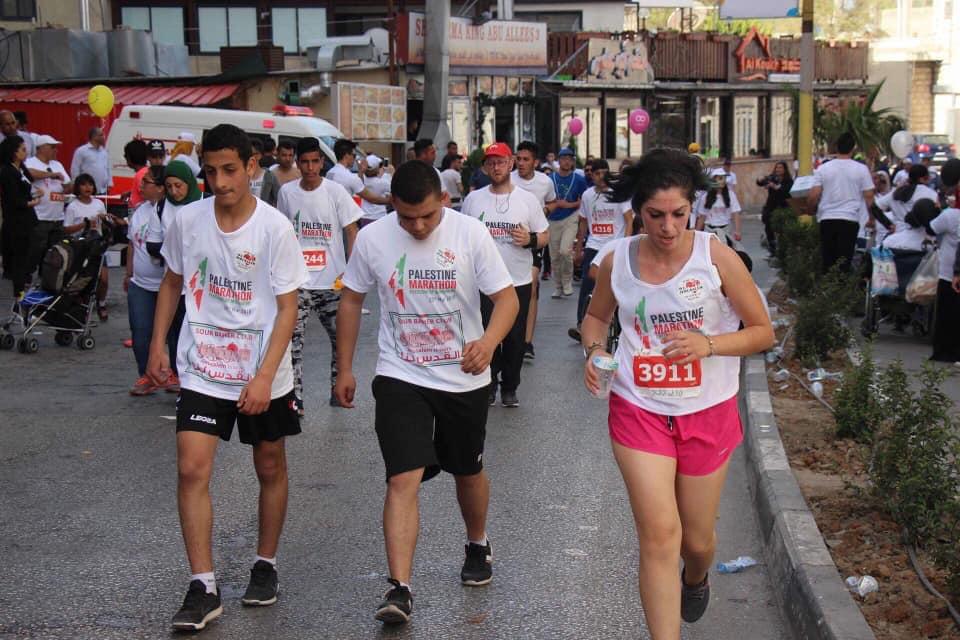 freedom of movement palestine marathon