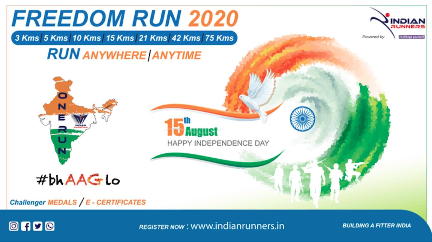 freedom virtual run