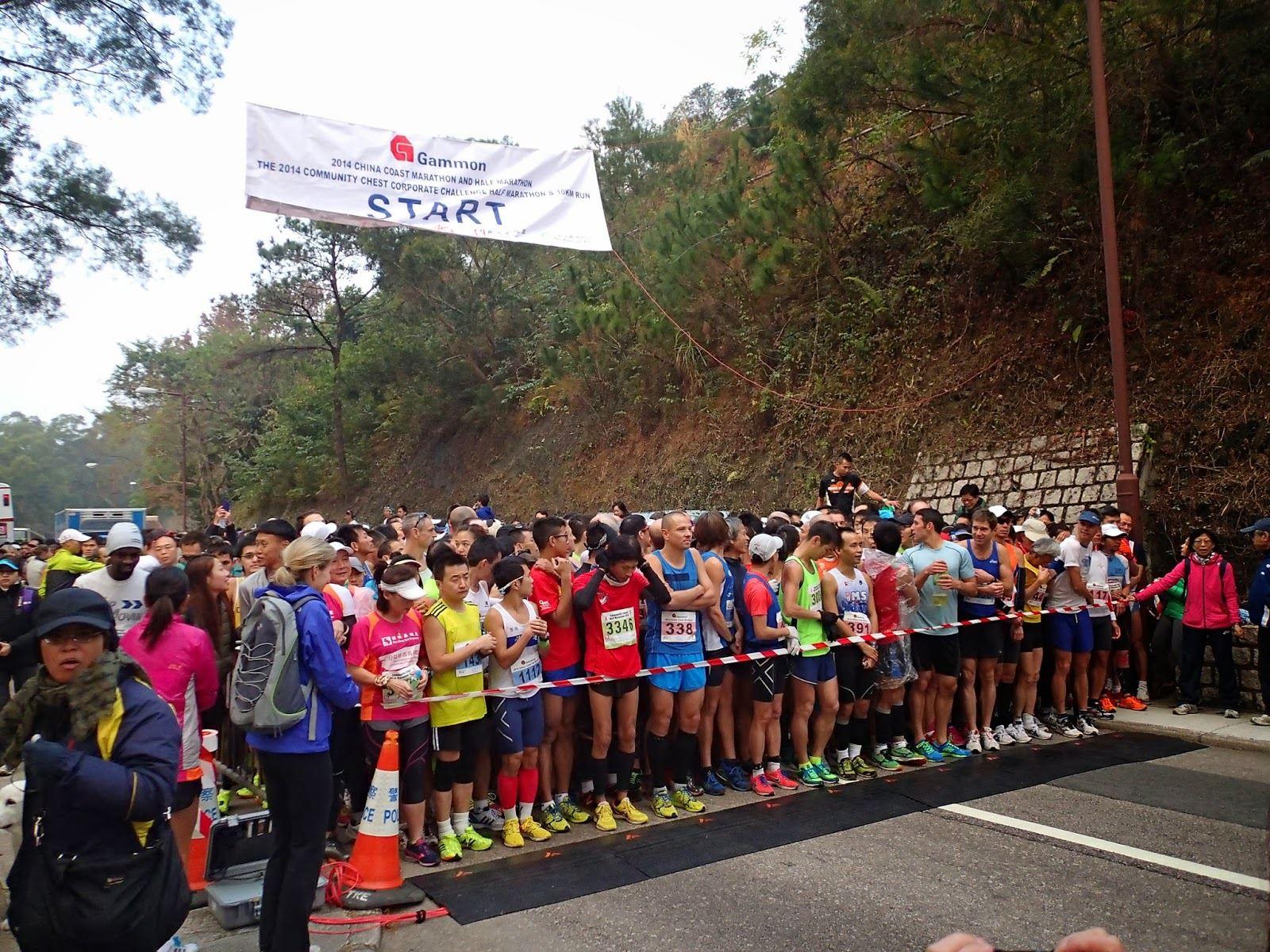 gammon china coast marathon half