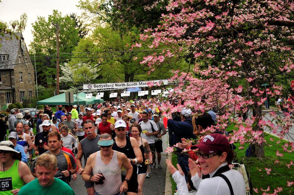 Alles over de Gettysburg North South Marathon en hoe jij er aan mee kunt doen