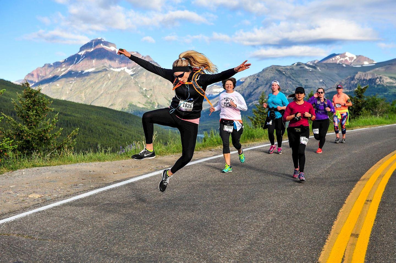 glacier half marathon