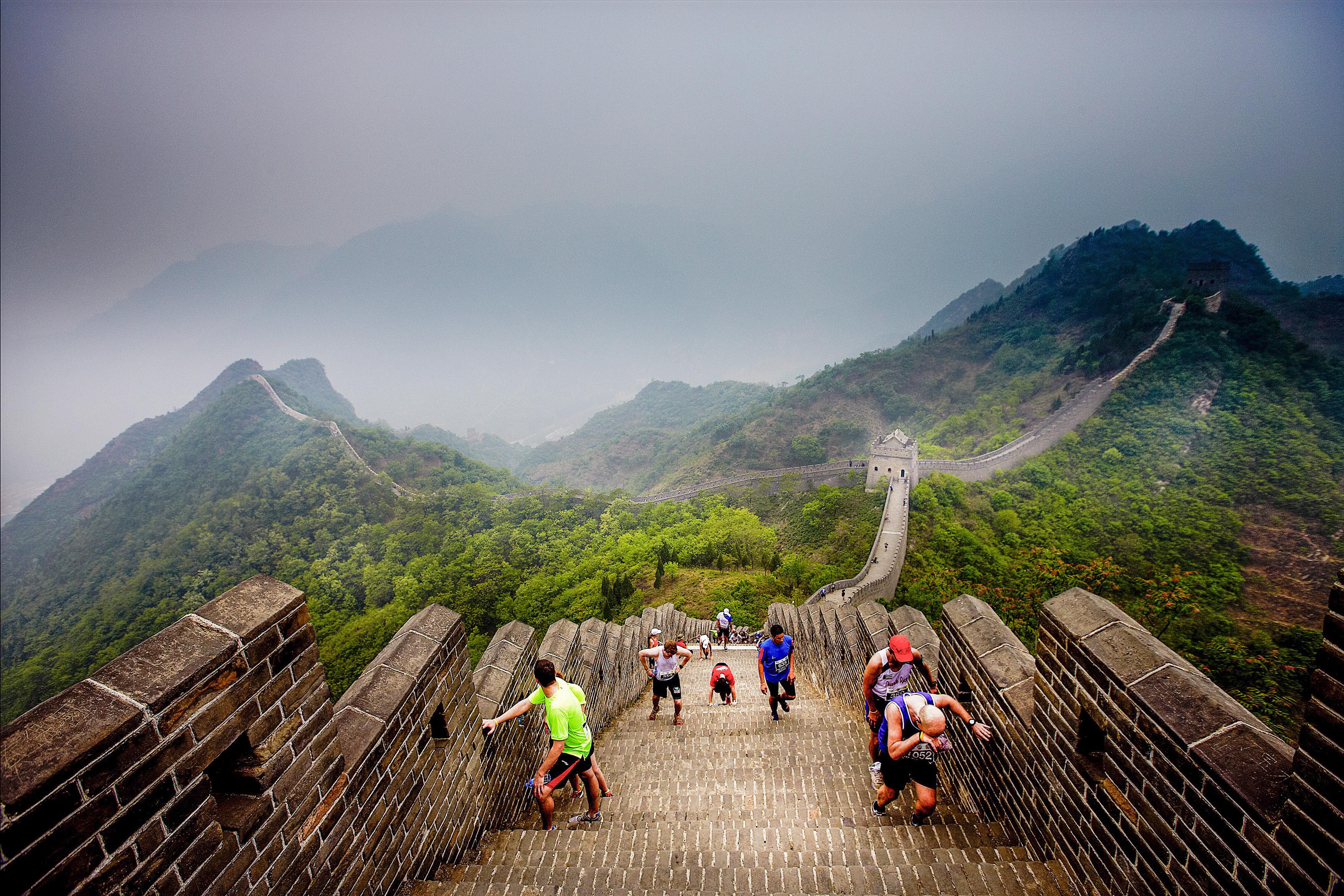 great wall marathon half marathon