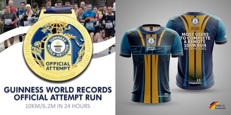 guinness world records attempt run