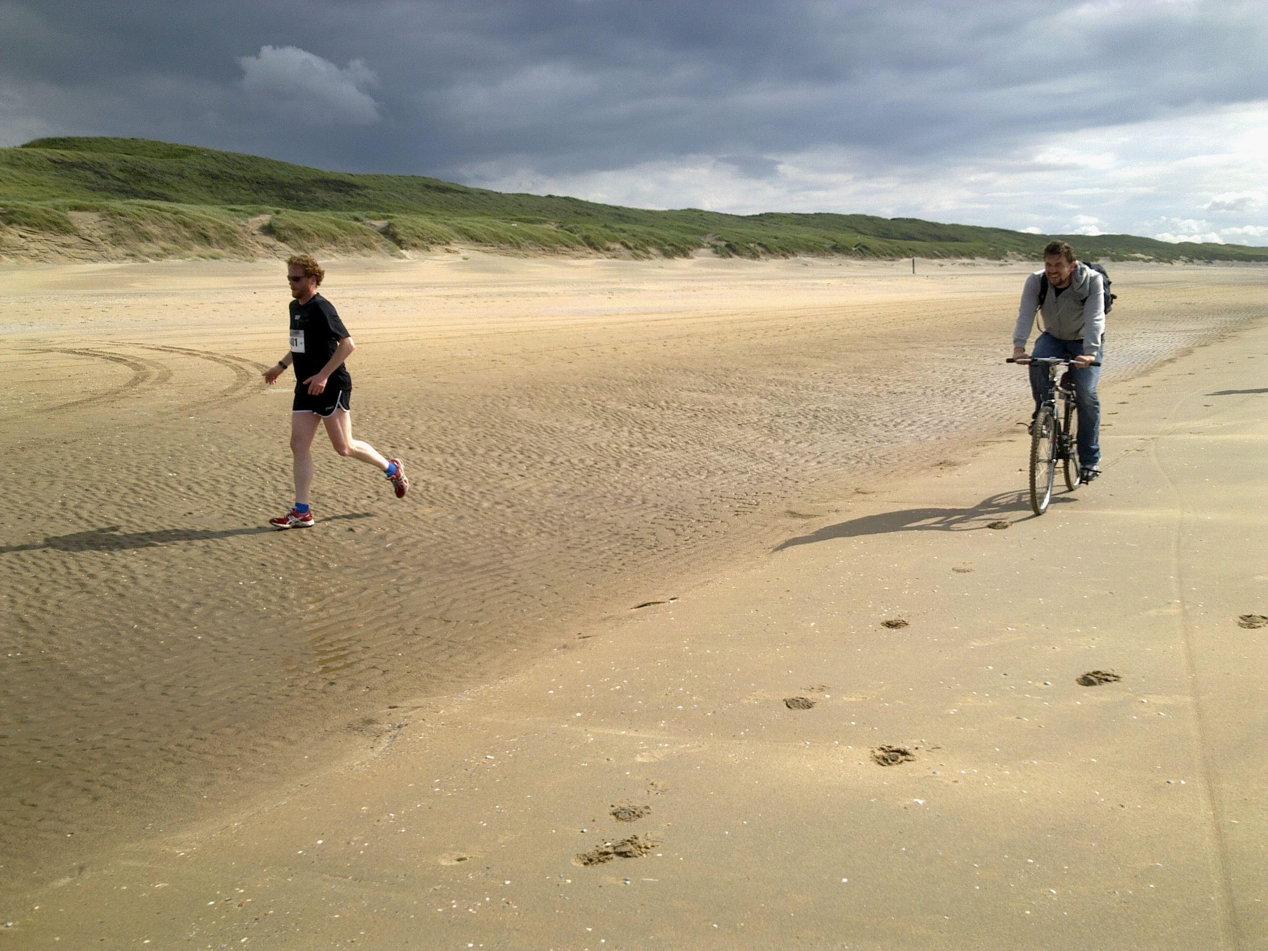 hague beach marathon