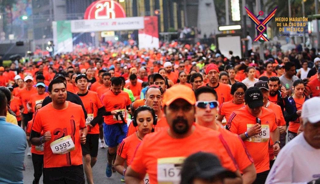 half marathon bbva mexico city