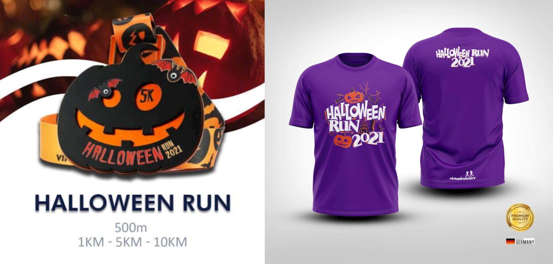 halloween fun virtual run