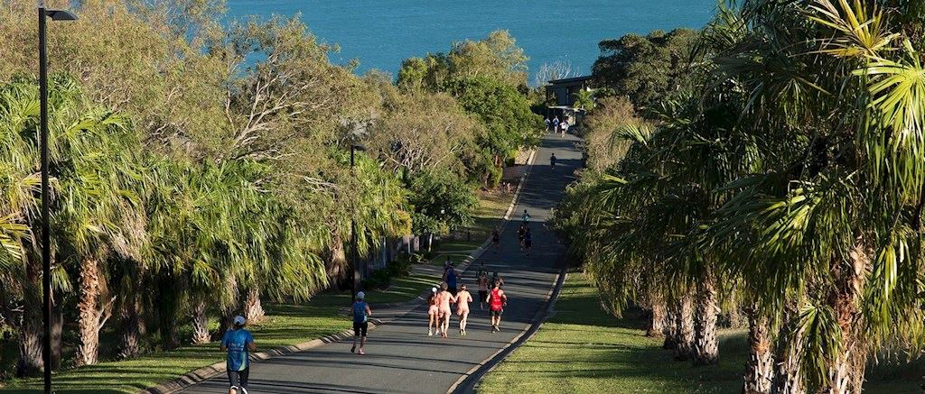 hamilton island hilly half marathon