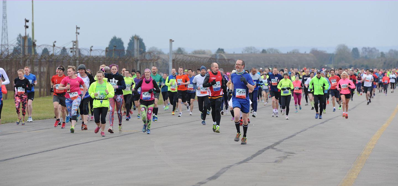 heyford air base half marathon