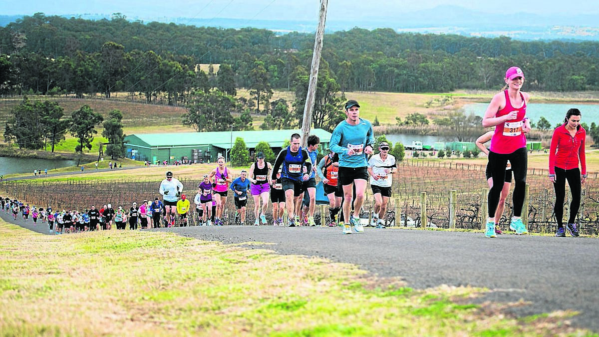 hunter valley winery marathon