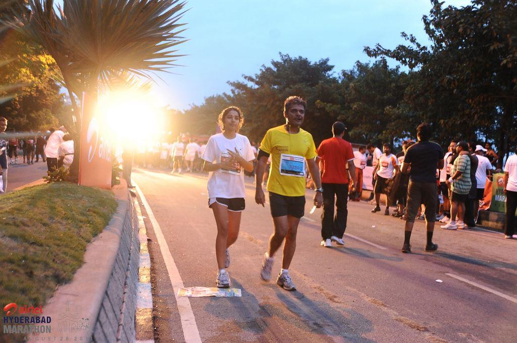 hyderabad marathon half marathon