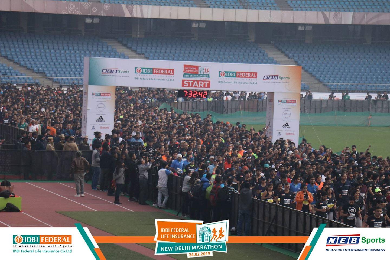 Alles over de Idbi Federal Life Insurance New Delhi Marathon en hoe jij er aan mee kunt doen