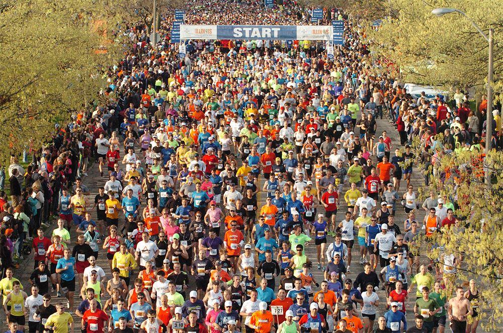 Alles over de Illinois Marathon en hoe jij er aan mee kunt doen