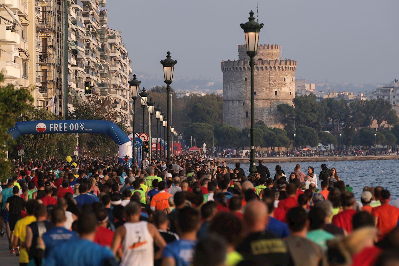 international thessaloniki night half marathon