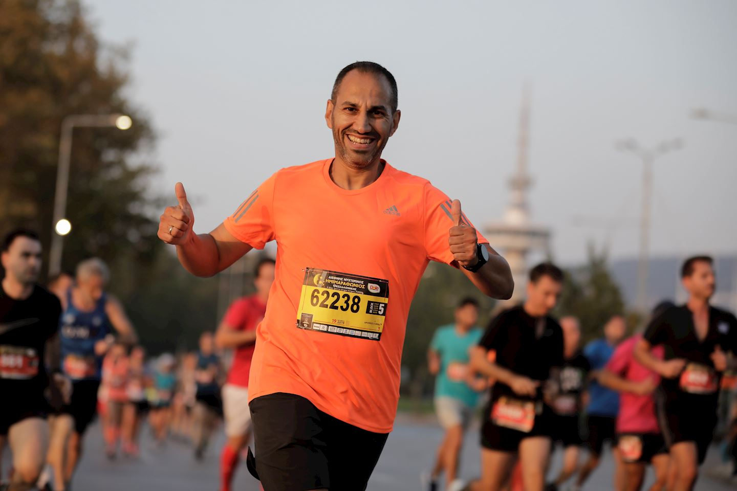 international thessaloniki night half marathon
