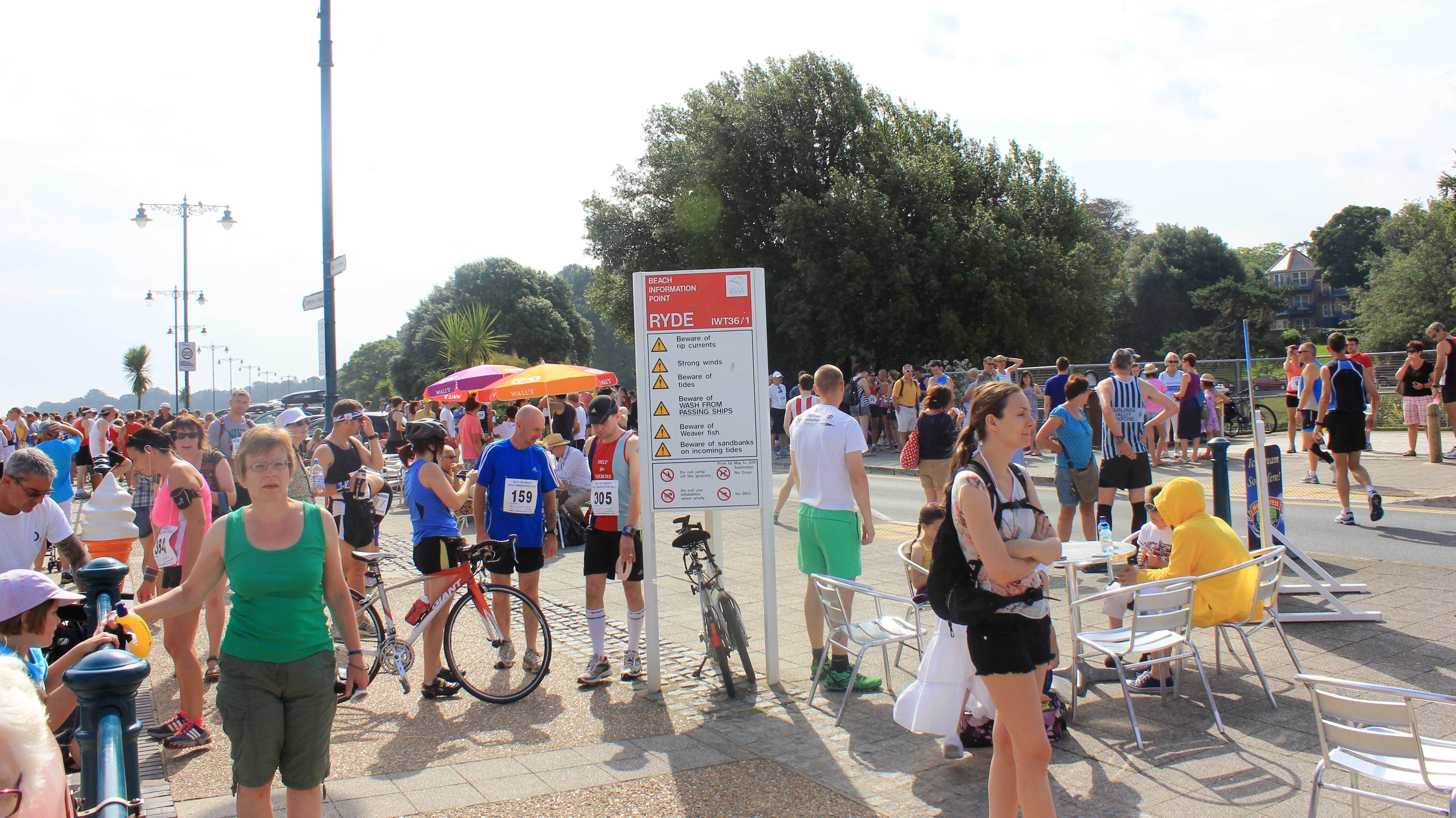 isle of wight half marathon
