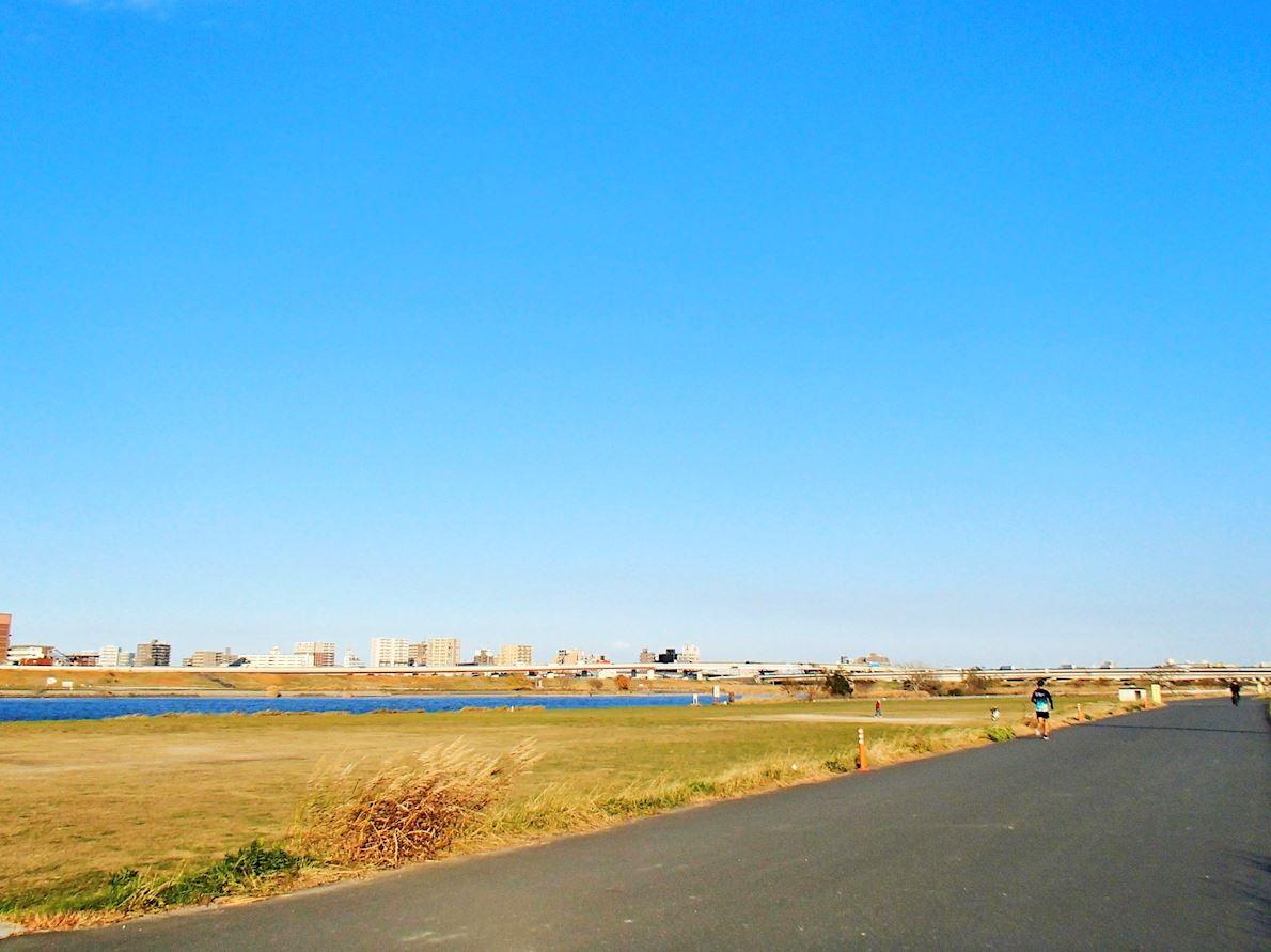Itabashi City  Marathon 路线图