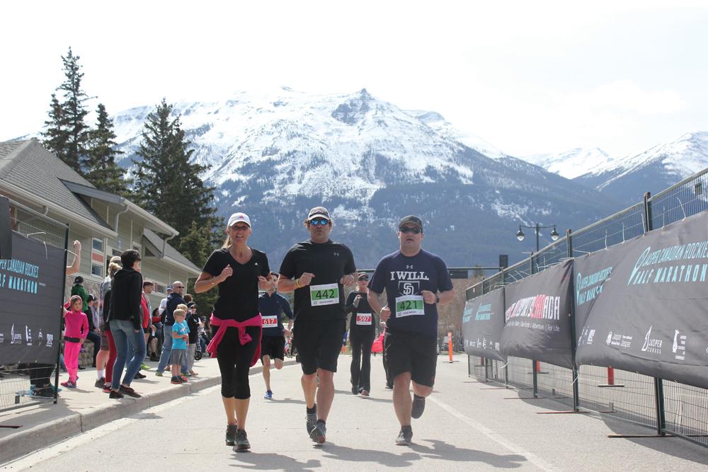 jasper canadian rockies half marathon