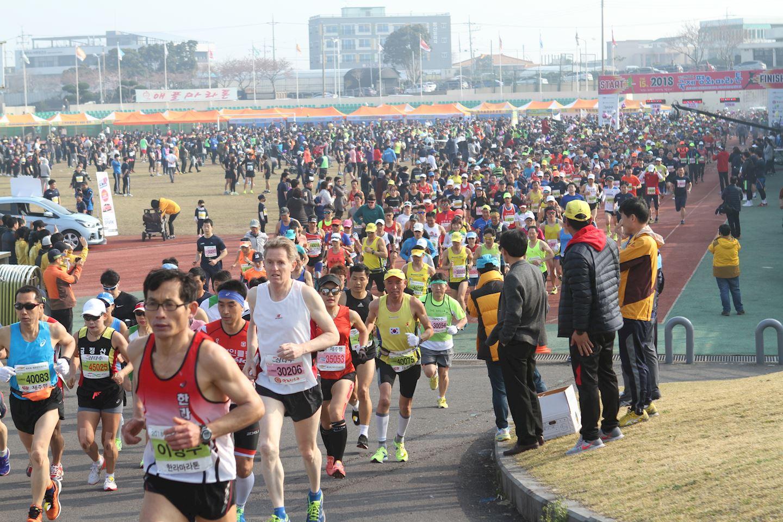 jeju mbc international peace marathon