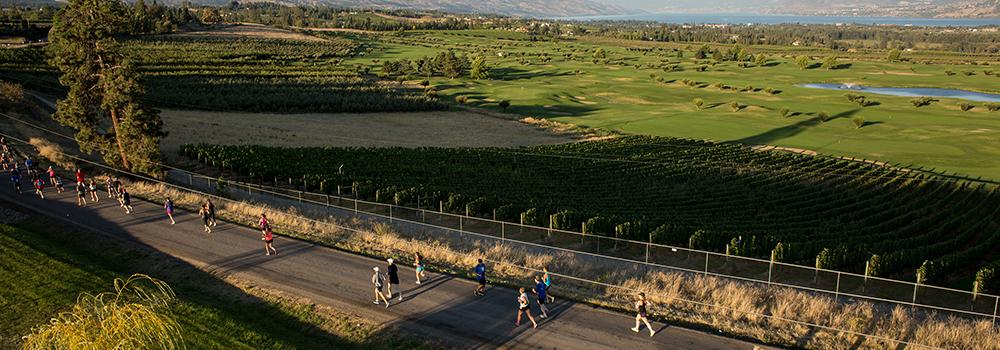 kelowna wine country half marathon