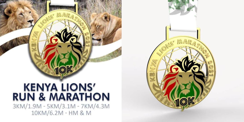 kenya lions virtual run and marathon