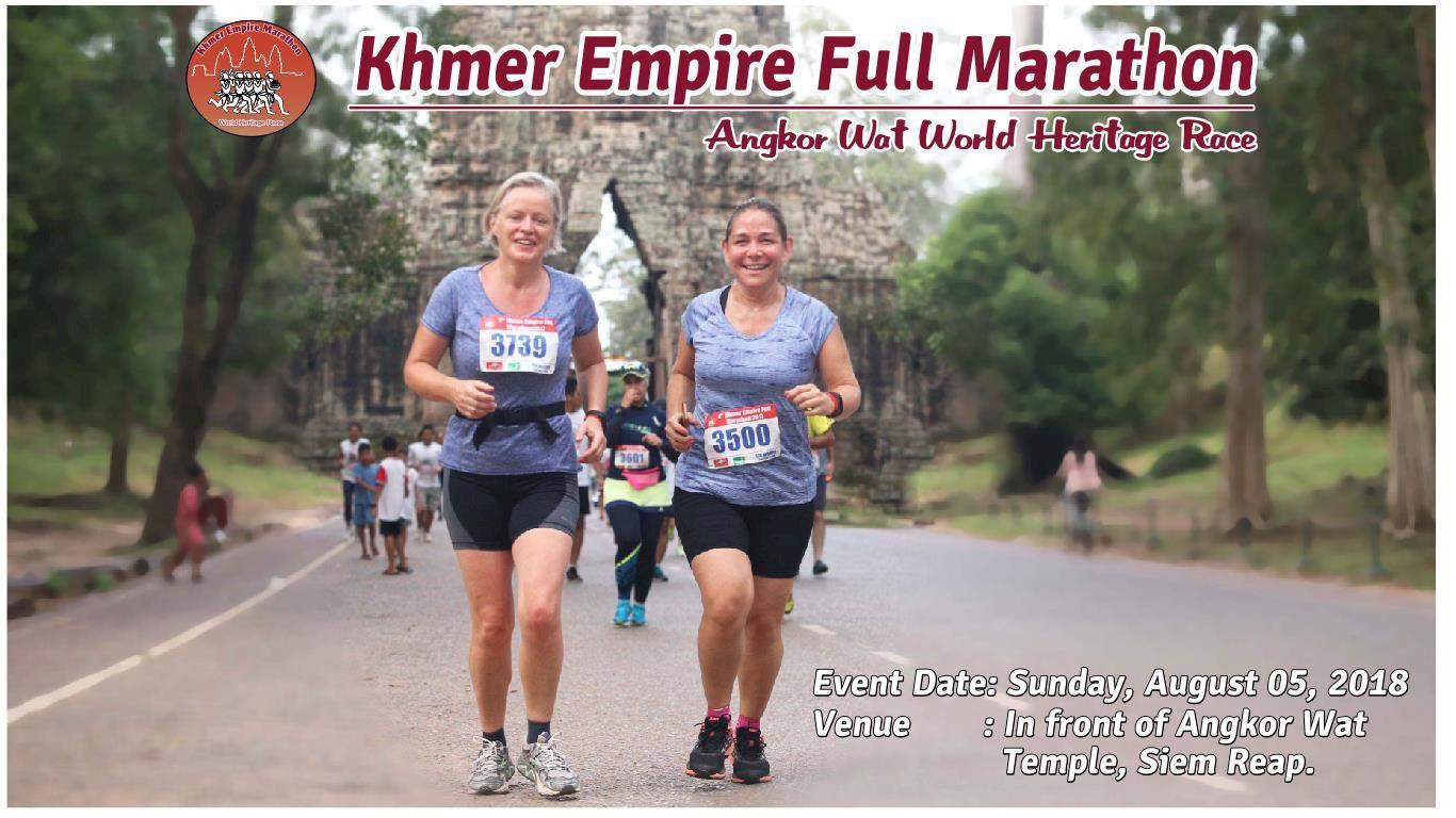 Alles over de Khmer Empire Marathon en hoe jij er aan mee kunt doen