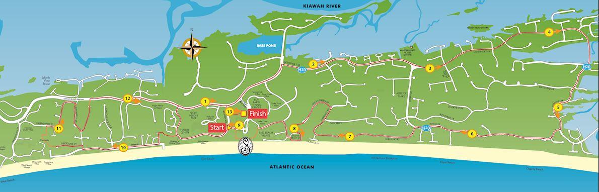Big Sur Half Marathon Elevation Map.Kiawah Island Golf Resort Kiawah Island Marathon Dec 14 2019