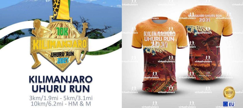 kilimanjaro uhuru virtual run marathon