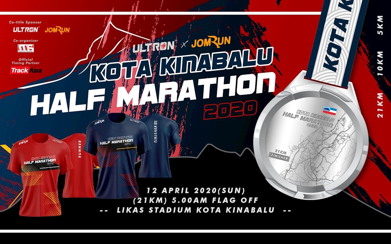 kota kinabalu half marathon