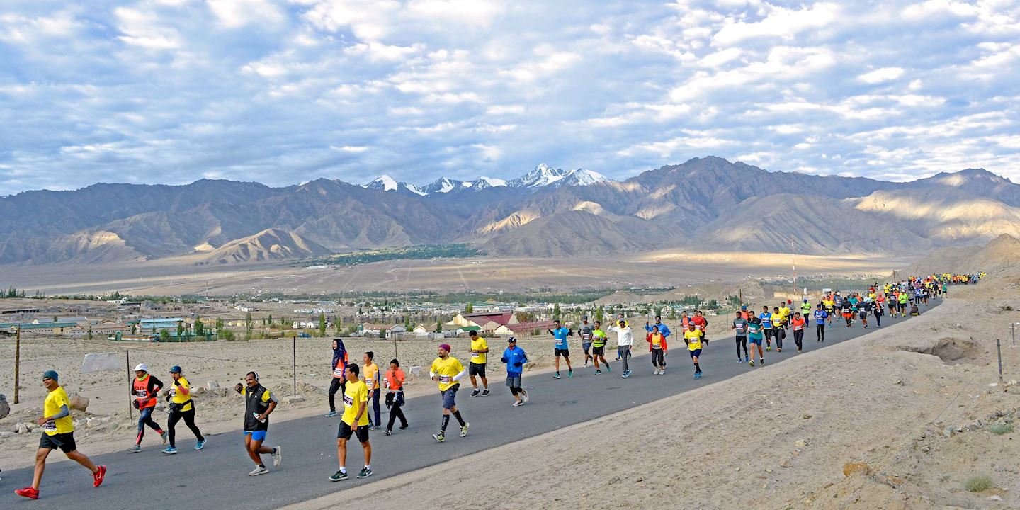 Image result for images of The Ladakh Marathon, Ladakh