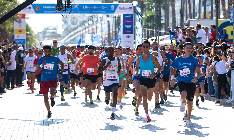Alles over de Radisson Blu Larnaka International Marathon en hoe jij er aan mee kunt doen