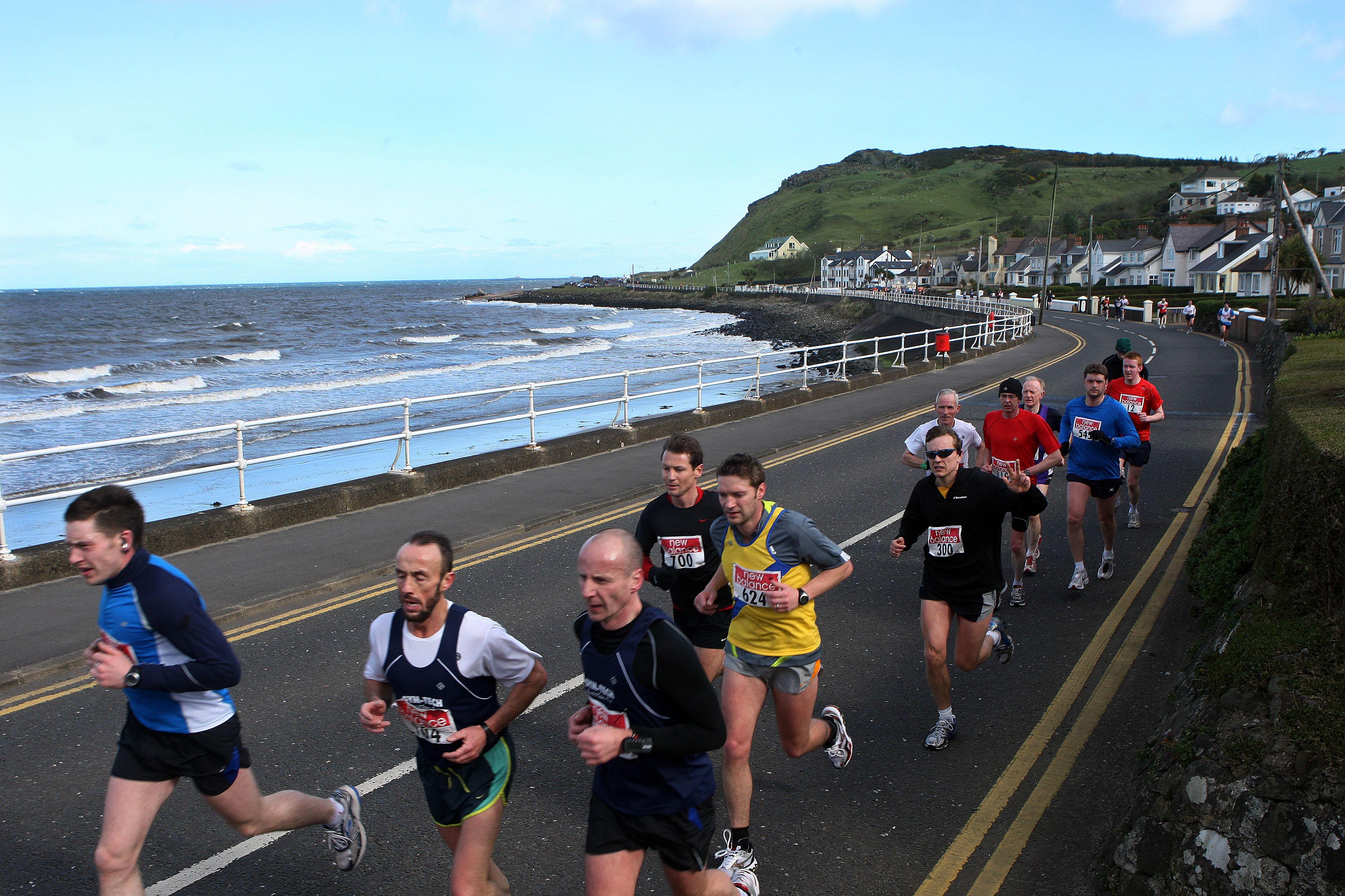 larne half marathon