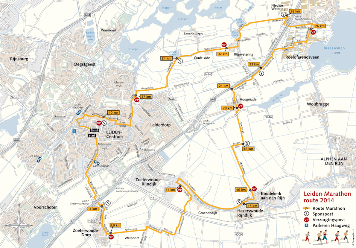 Leiden Marathon May 26 2018 Worlds Marathons