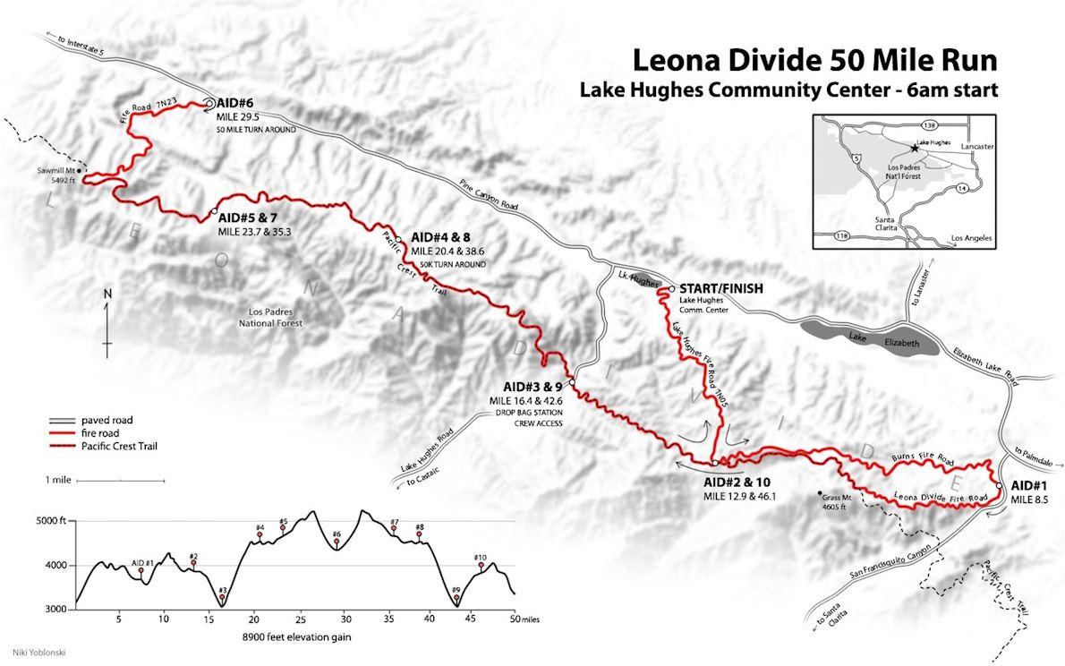 Leona Divide 50/50 路线图