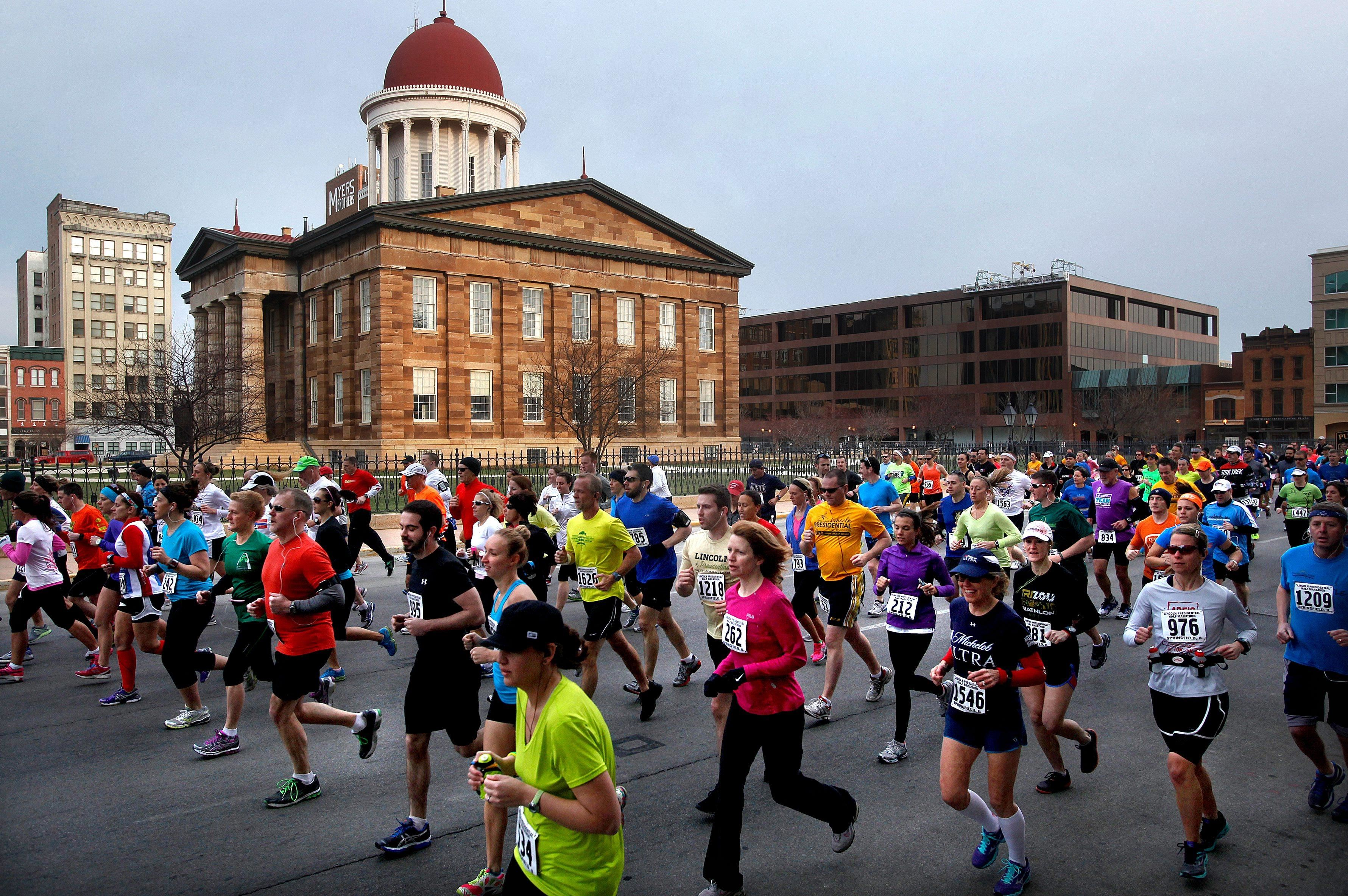 lincoln presidential half marathon