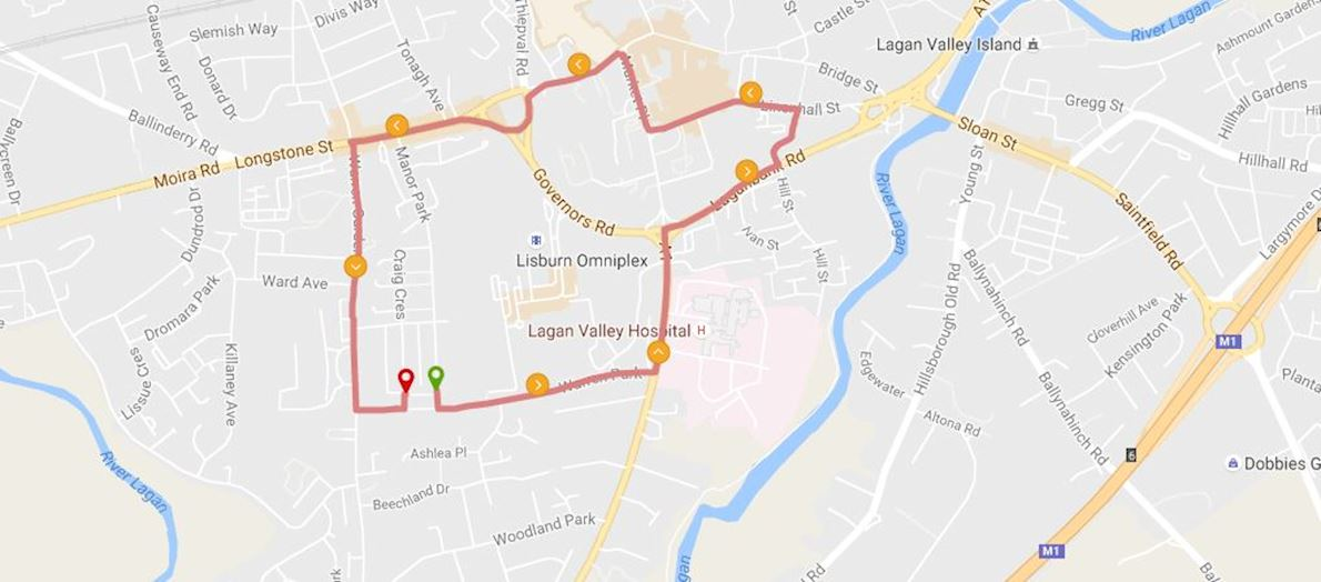 Lisburn Half Marathon Jun 20 2018 Worlds Marathons