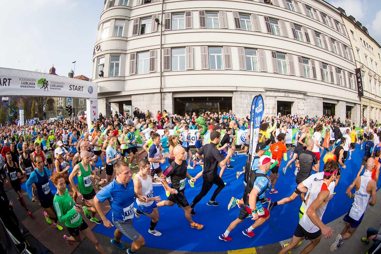 Alles over de Ljubljanski Ljubljana Marathon en hoe jij er aan mee kunt doen