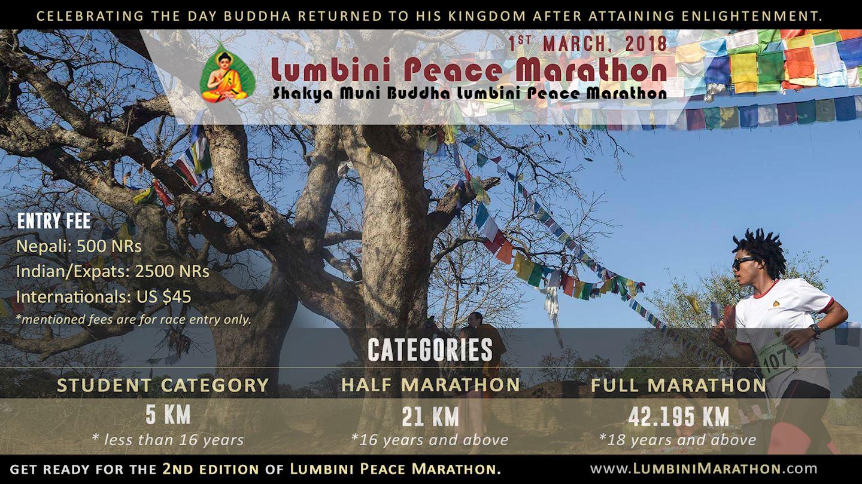 Alles over de Lumbini Peace Marathon en hoe jij er aan mee kunt doen