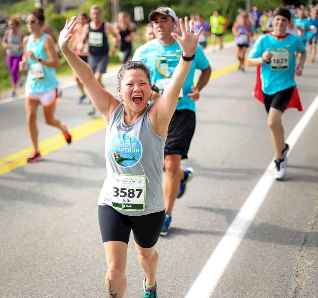 maine marathon half marathon and relay