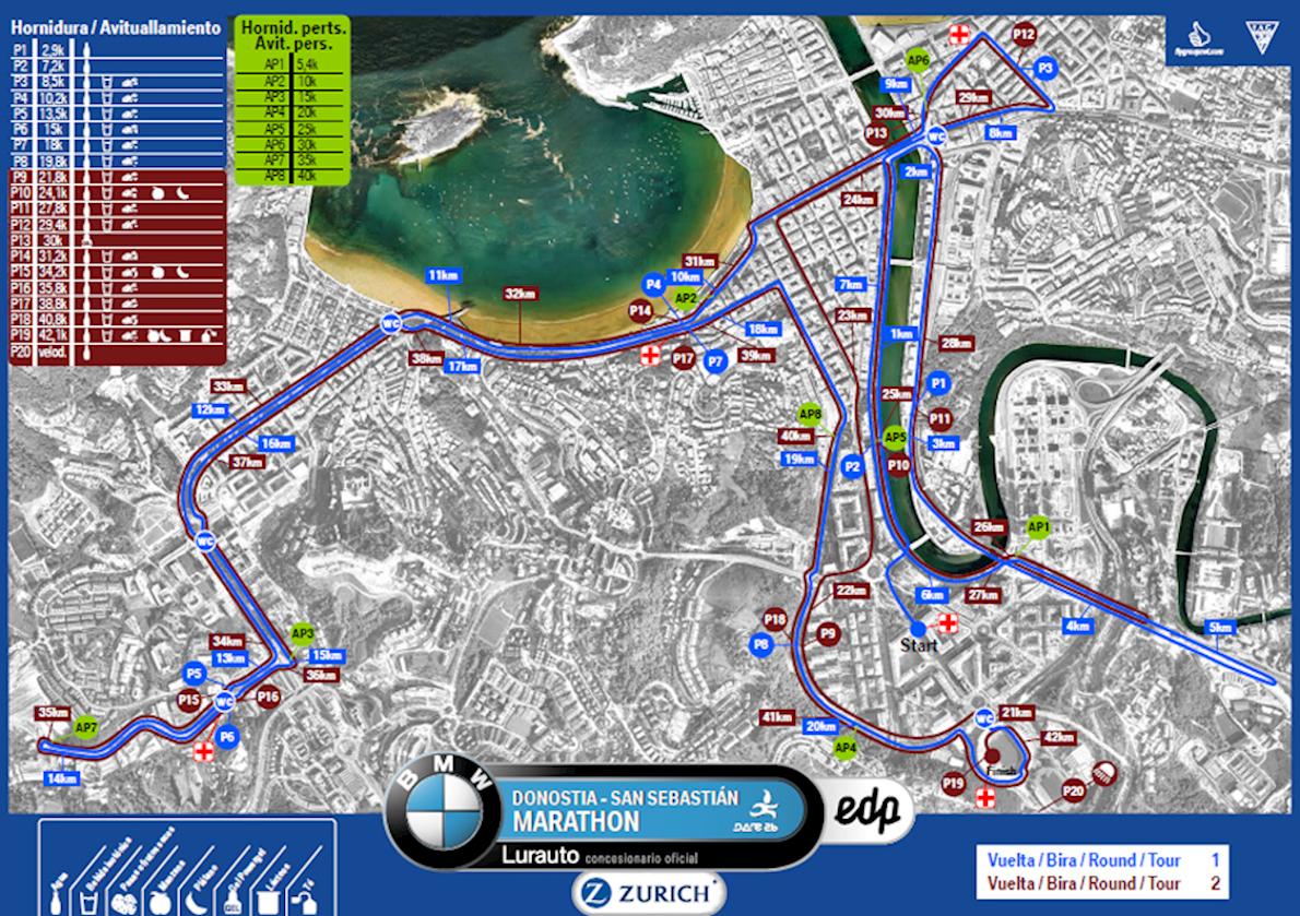 San Sebastián Marathon, Nov 26 2017 | World\'s Marathons