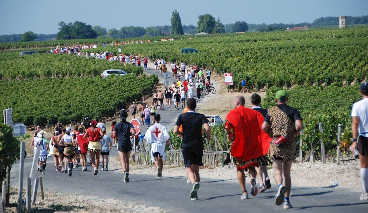 Image result for marathon du medoc 120 km walk