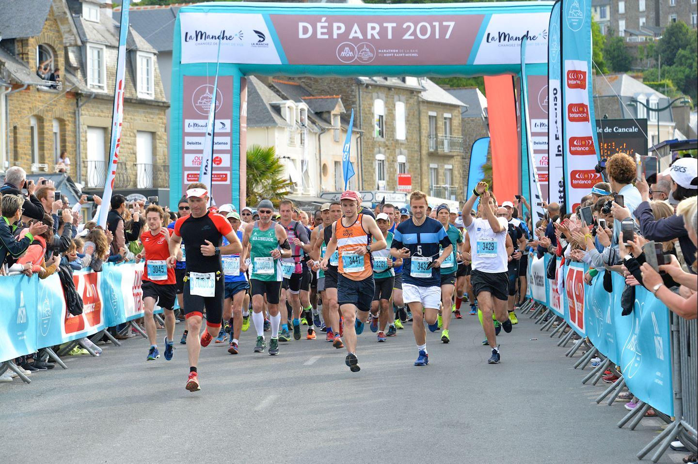 marathon du mont saint michel
