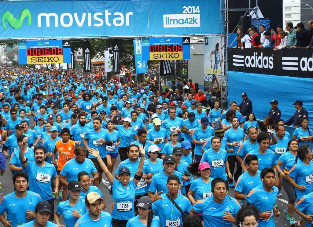 maraton movistar lima42k