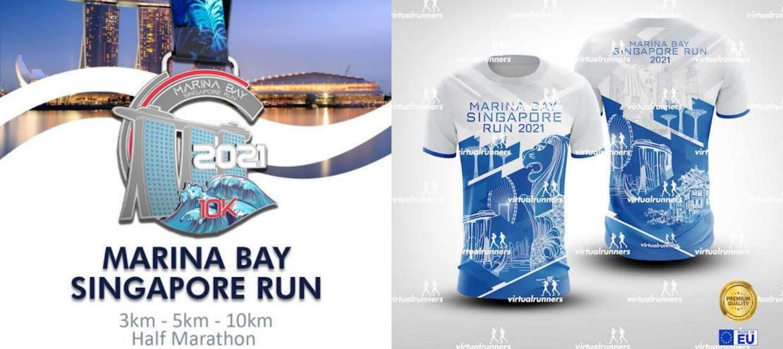 marina bay singapore virtual run marathon