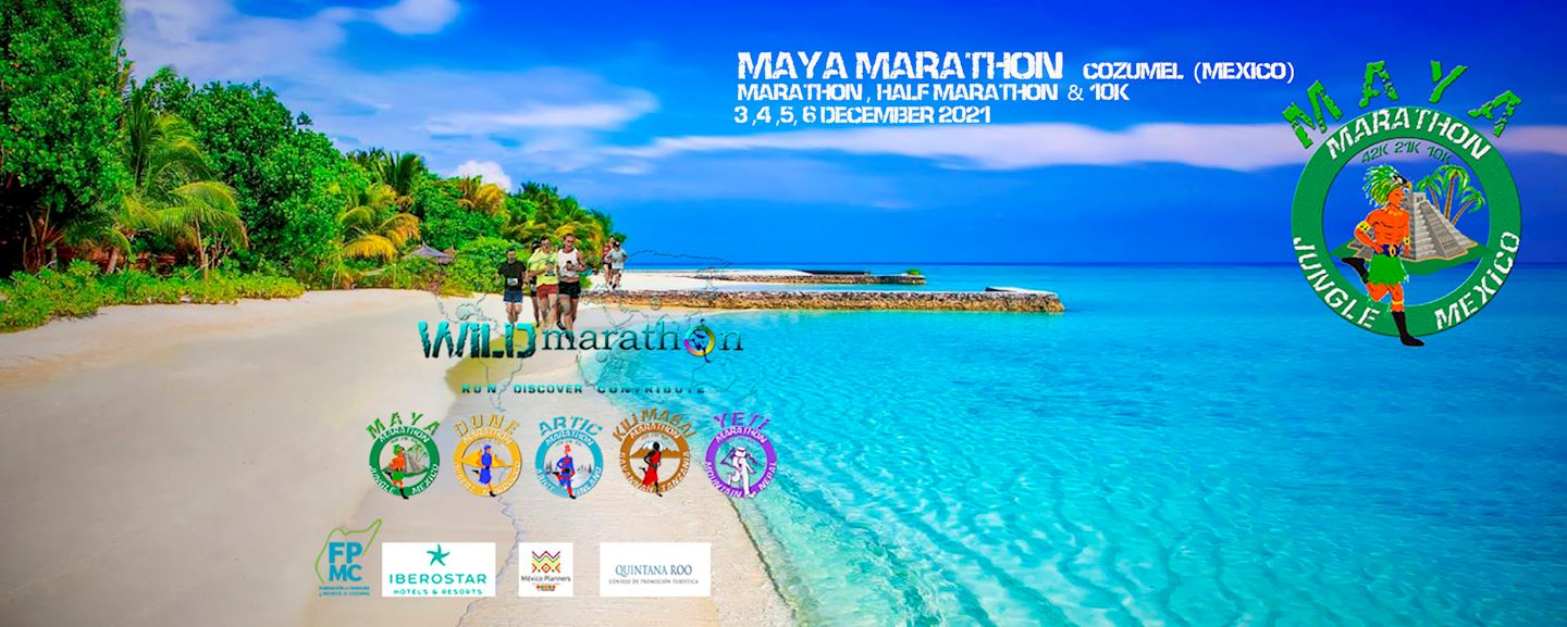 maya marathon run in the jungle