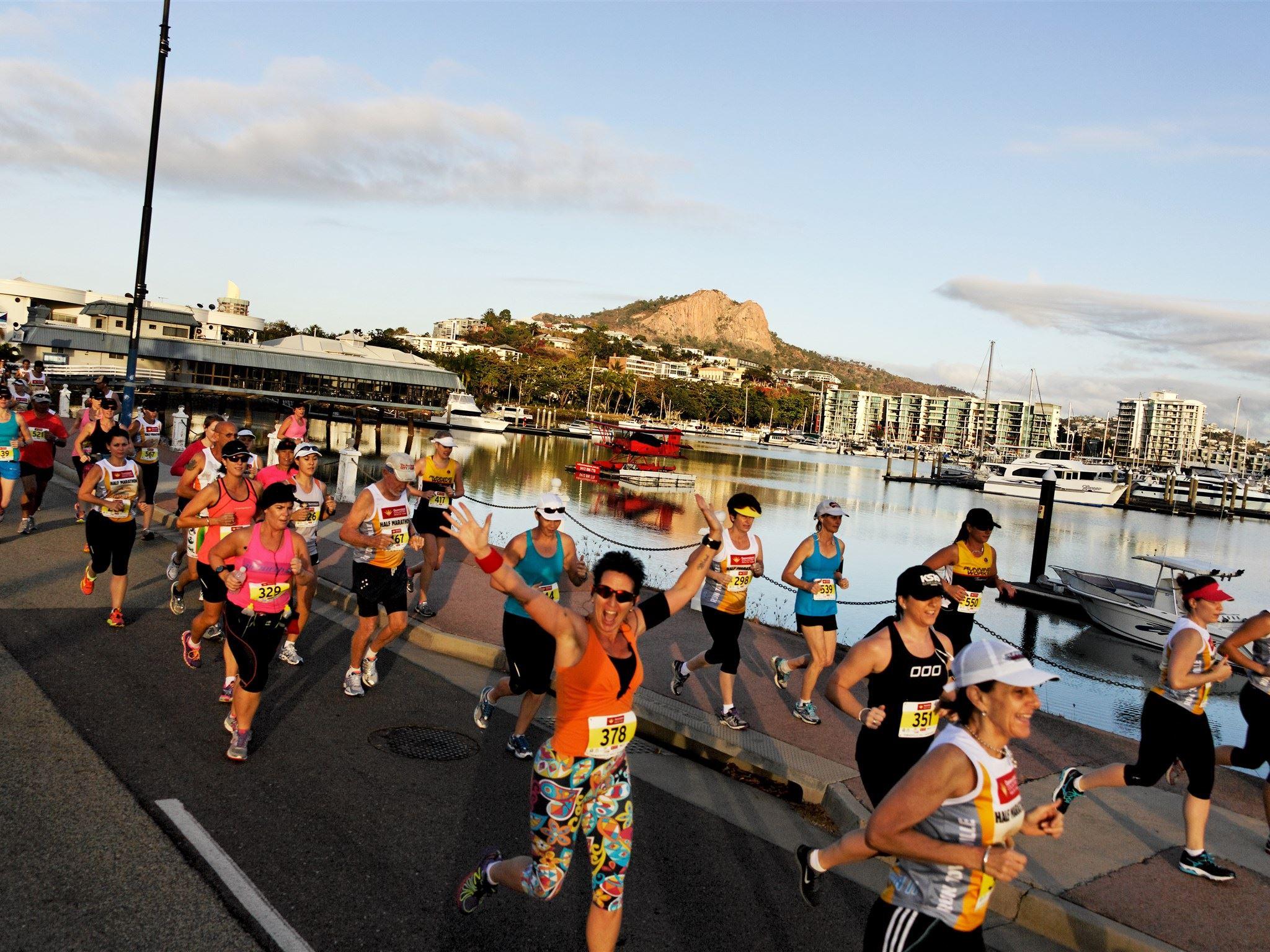 mcdonalds townsville marathon