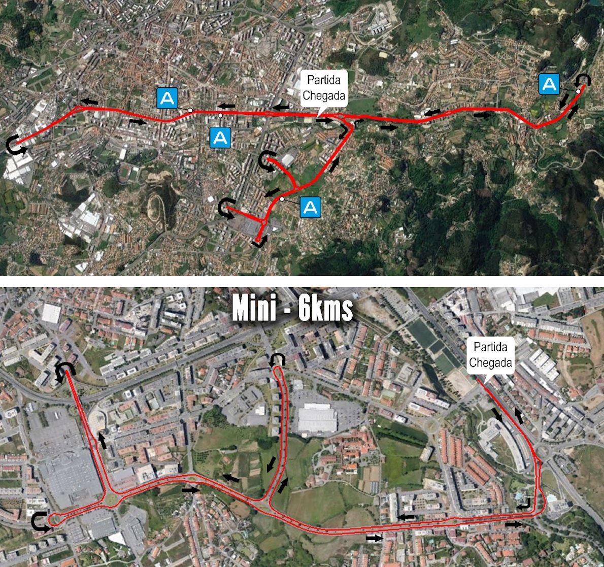 Braga Half Marathon Route Map