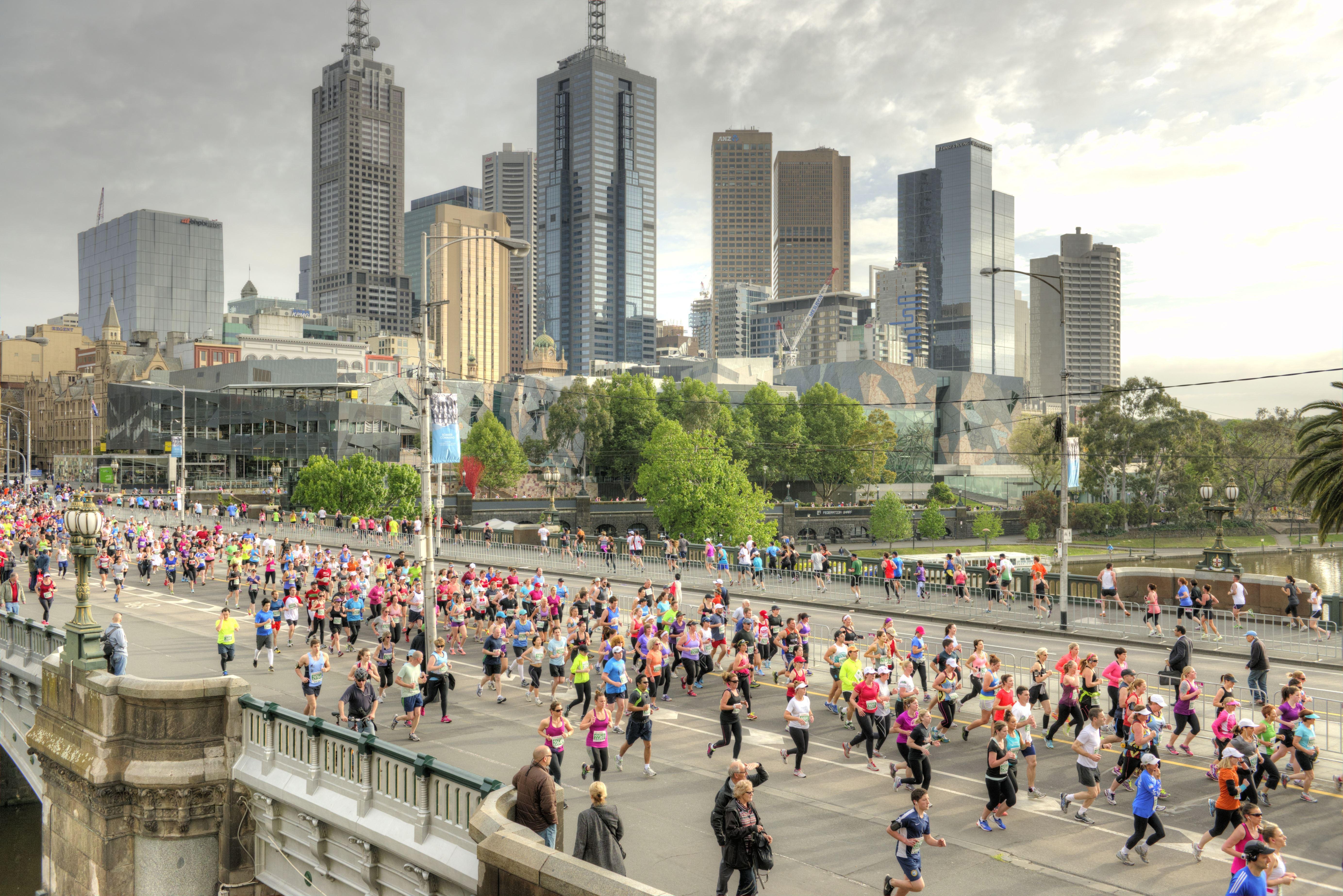 Alles over de Melbourne Marathon en hoe jij er aan mee kunt doen
