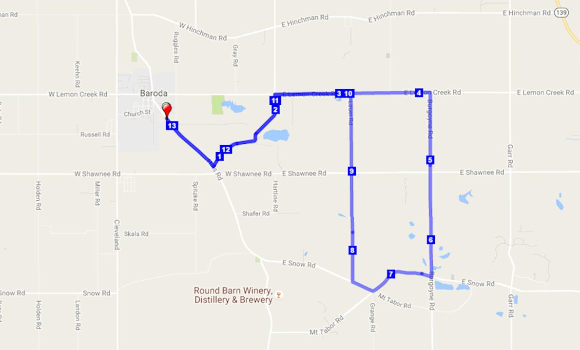 Michigan Wine Trail Half Marathon Worlds Marathons